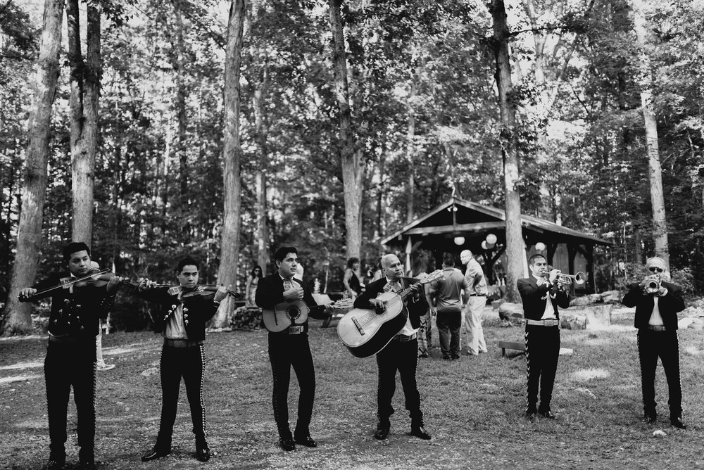 mariachi band playing in Duke Forest
