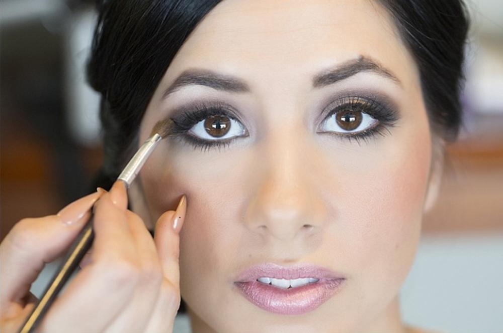Orange county bridal makeup