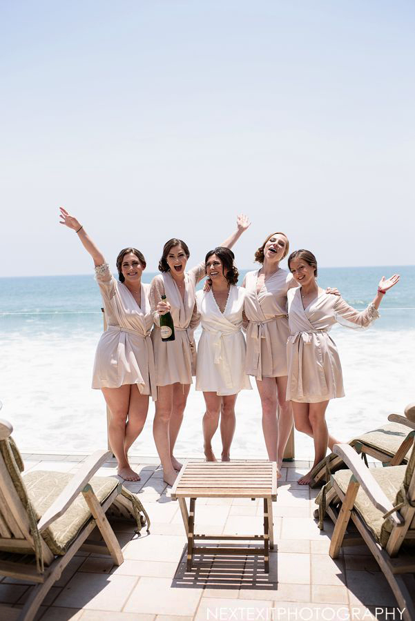 Los Angeles Bridesmaids Hair and Makeup