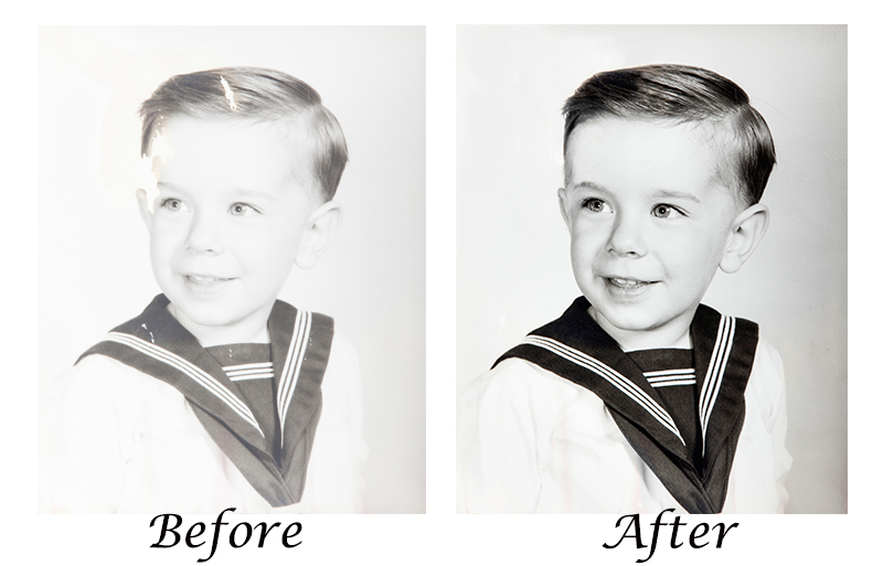 Old photo restored