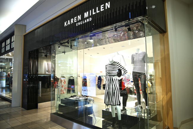 0ba56dd502 ... night I headed over to the Westfield Mall in downtown San Francisco to  hold our first ever K&L fashion event with London-based designer Karen  Millen.