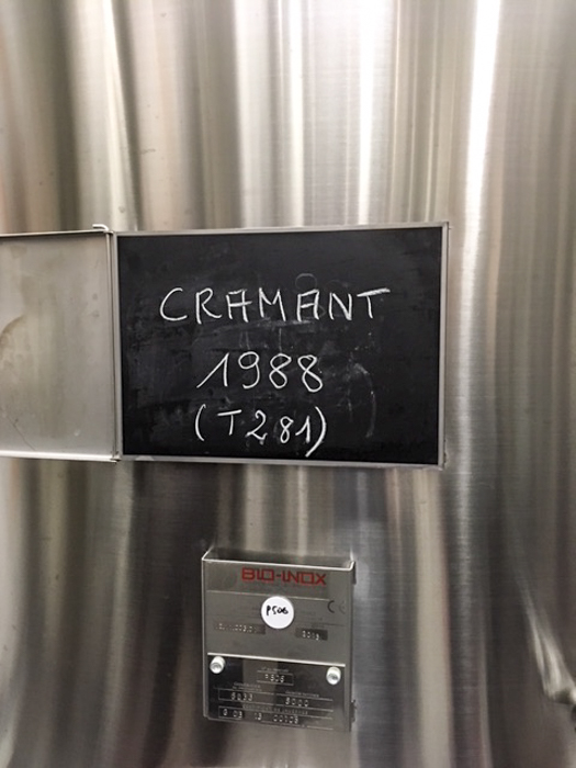 The 1988 Cramant had to wait 30 years before coming to your glass