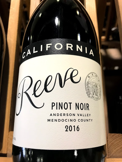 Reeve 2016 Anderson Valley Pinot