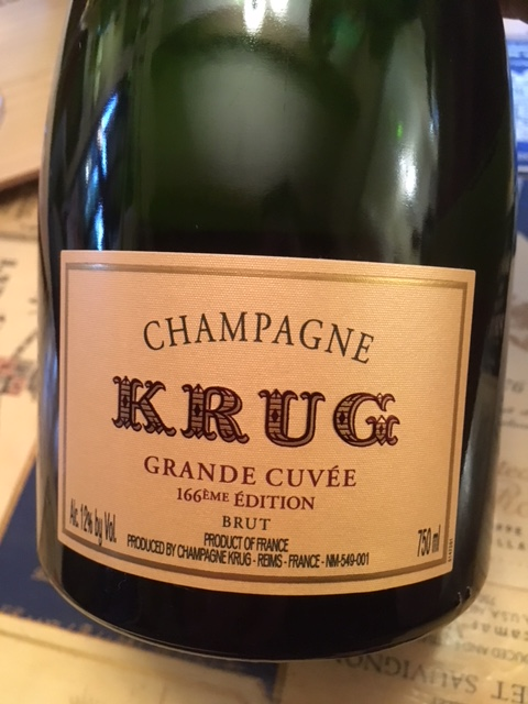 Krug Grand Cuvee 166