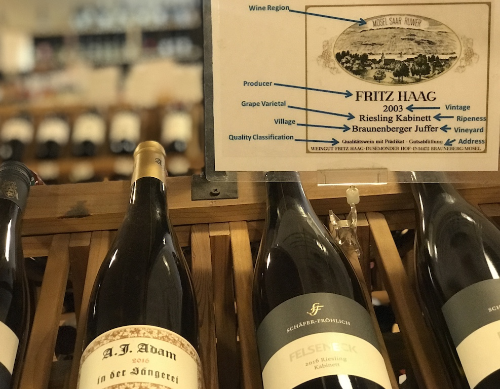 Learn to read (and understand!) German wines.