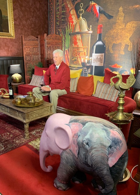 Ralph Sands is interviewed at Cos d'Estournel