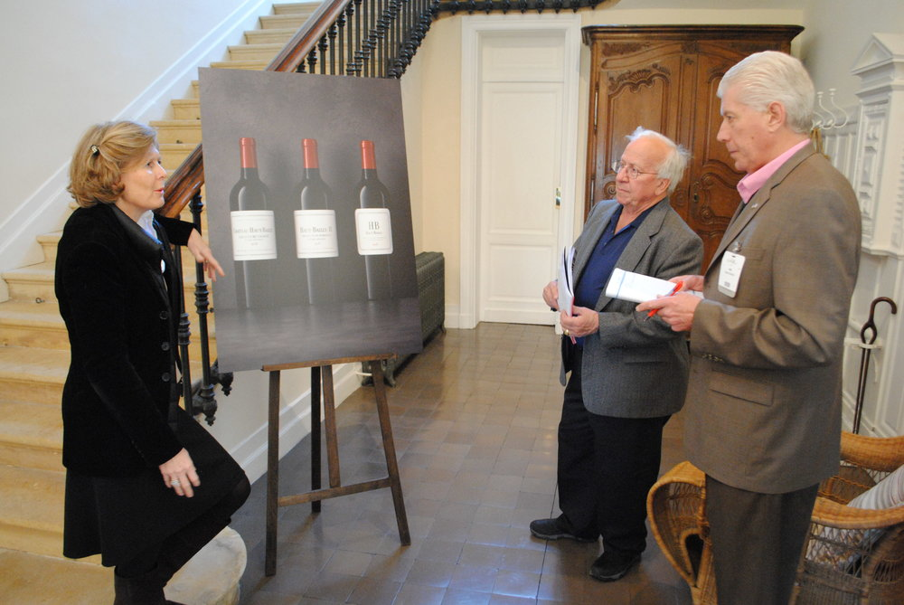 Veronique Sanders breaks down the new 2018u labels of Haut Bailly's wines for Ralph and Clyde