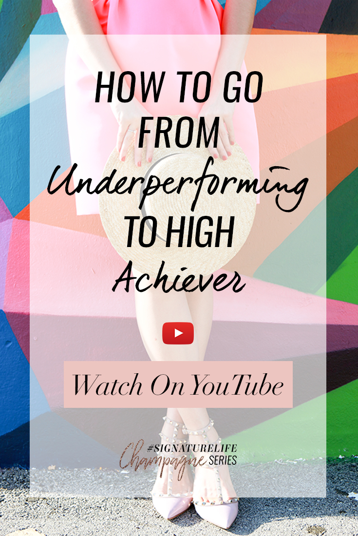 Tune in as Daria shares why you might not really be underperforming and how to figure out the areas of your life where you already are a high achiever.