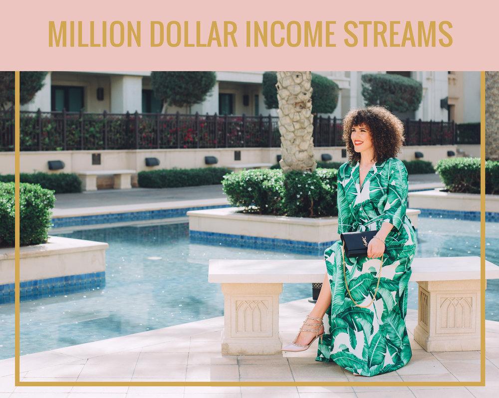 MILLION DOLLAR INCOME STREAMS
