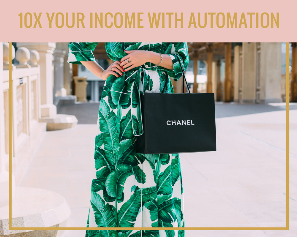 10X YOUR INCOME WITH AUTOMATION