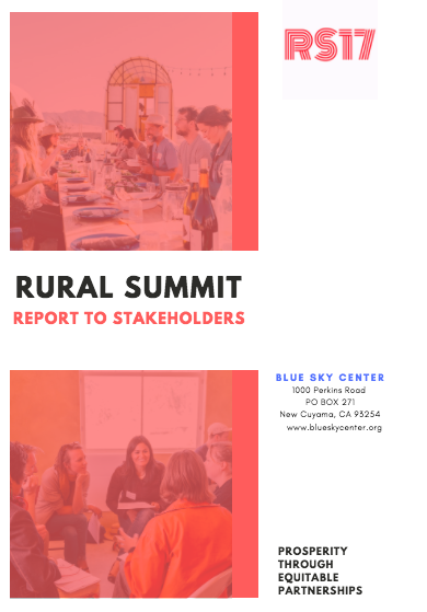 Rural Summit Cover