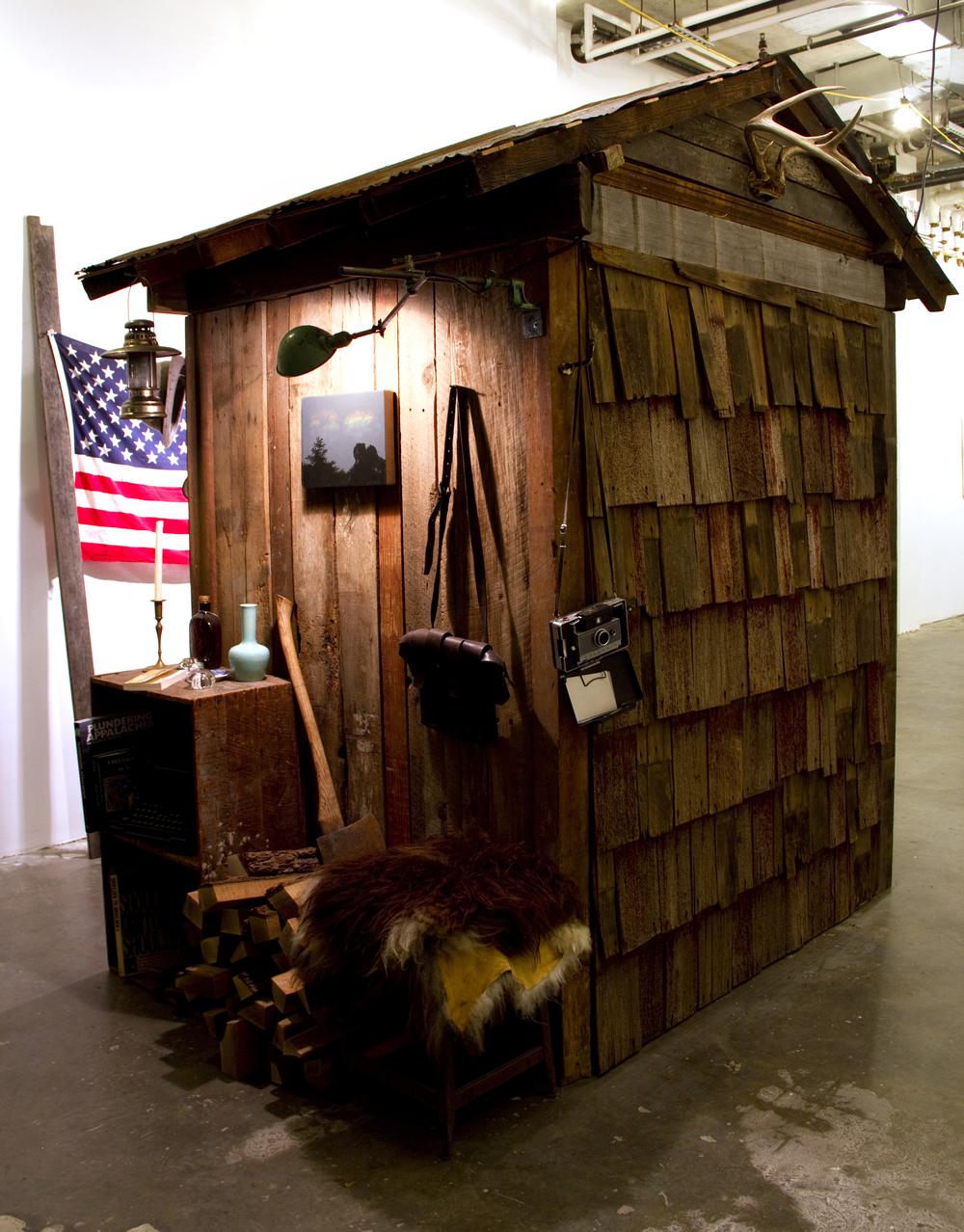 American Language, mixed media, dims. var. 2011