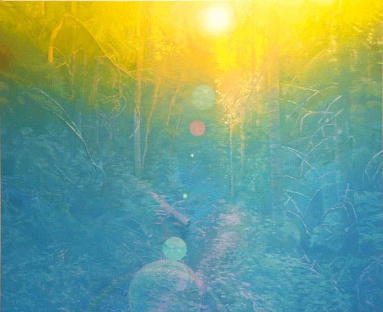 'forest-path'-Oil-on-linen-44'x49'-2009.jpg