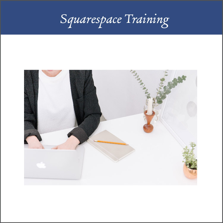 Squarespace Trainings - One of the reasons I chose to work with Squarespace is because of how user friendly it is. However, I want you to feel confident in it a possible, since this is YOUR website! After your website is done, I deliver a recorded tutorial with all the things you need to know about keeping your Squarespace site updated after our time together. We also have a call closing our time together where we can share screens and you can ask me anything you want to.
