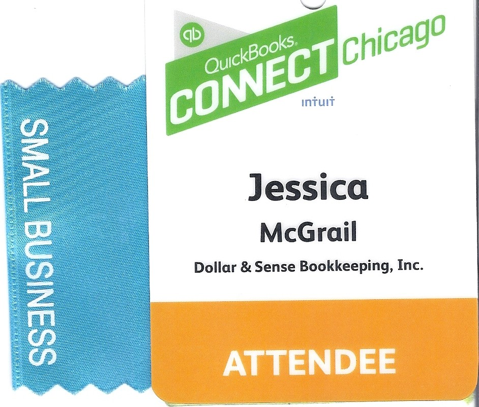 QuickBooks Connect Chicago July 2015 -  This seminar was so many things, inspiring, motivational, educational, eye opening, but most of all, a real changing point for myself and my business.  Hearing the stories that other small business owners had to share of their beginnings, their challenges and where they are now made me want to ask myself and other small business owners one question - Do you want to stay where you are in your business or do you want to grow and become what you know can be so much greater?  All you need is more confidence and a great bookkeeper :)