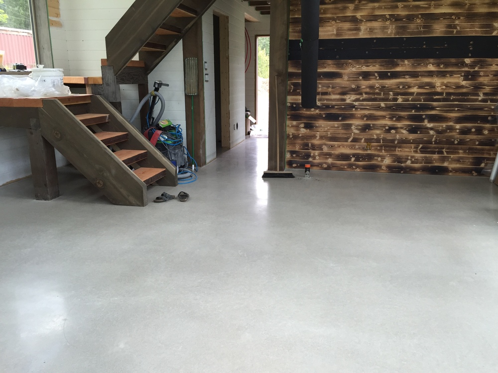 Fresh Grind Concrete Finishing