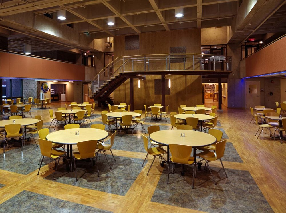 Johnson State College Stearns Student Center Renovation