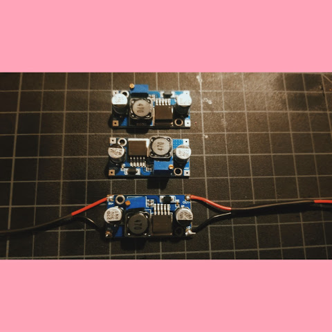 The voltage boost circuit.