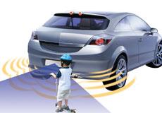 Rear sensors