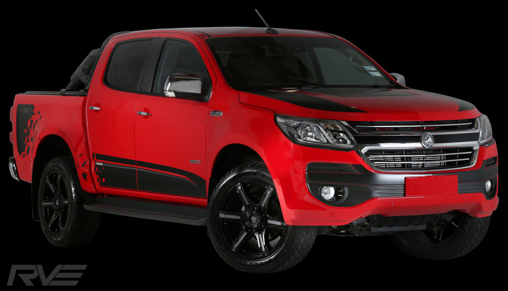 The MY17 Holden Colorado Platinum Package