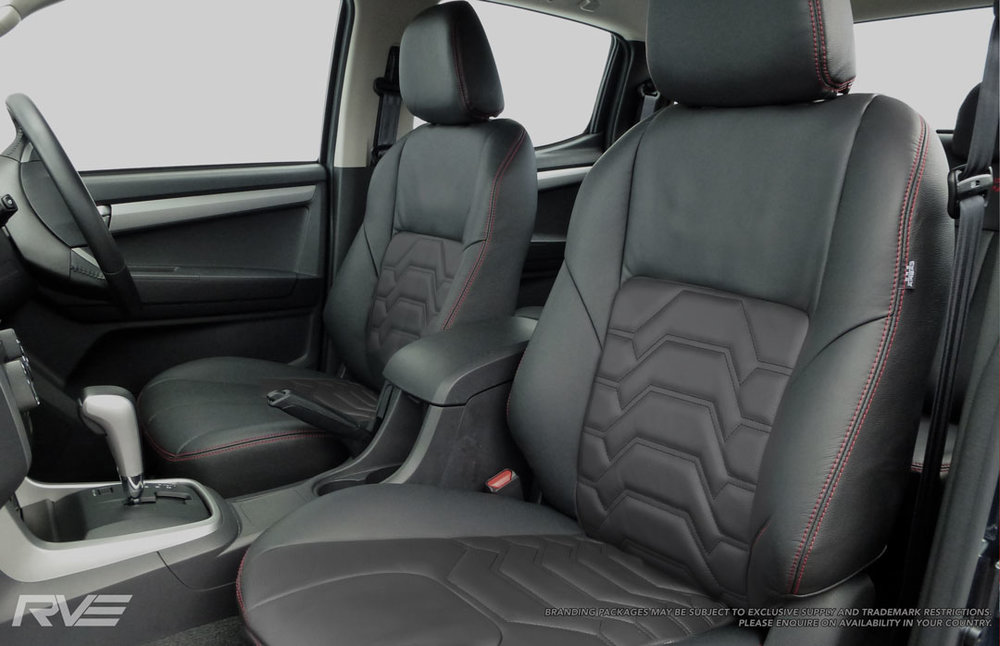Holden Colorado, Upgraded standard leather, armour inserts