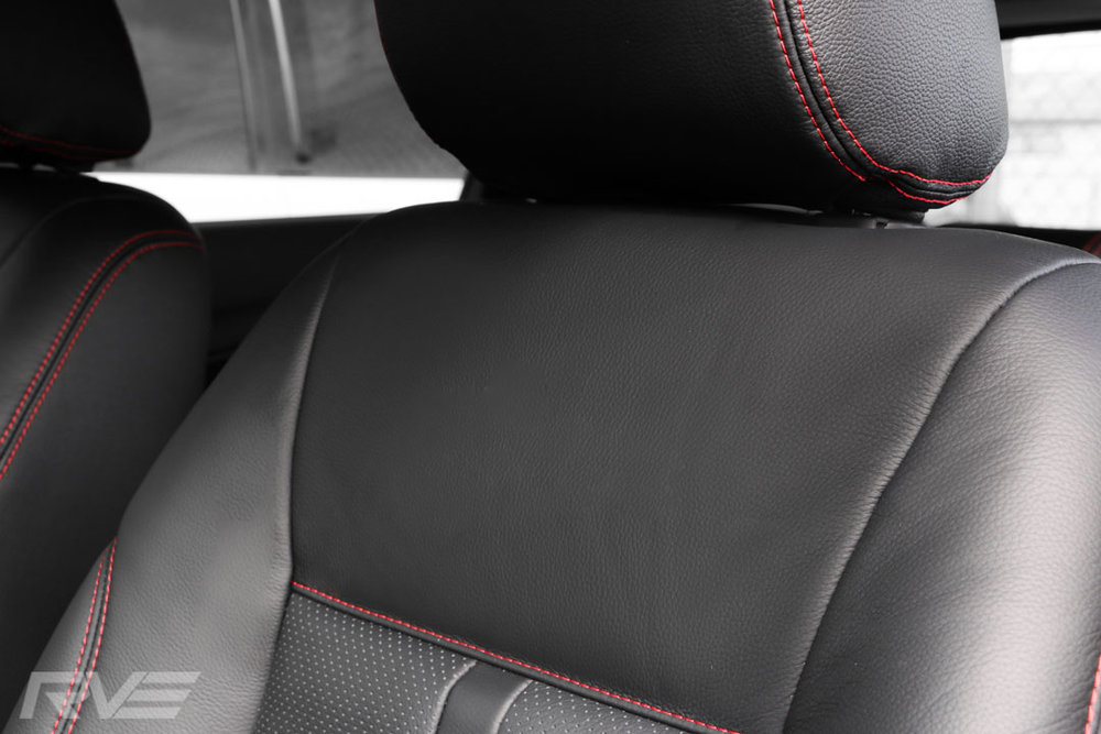 Ford Fiesta Leather Interior