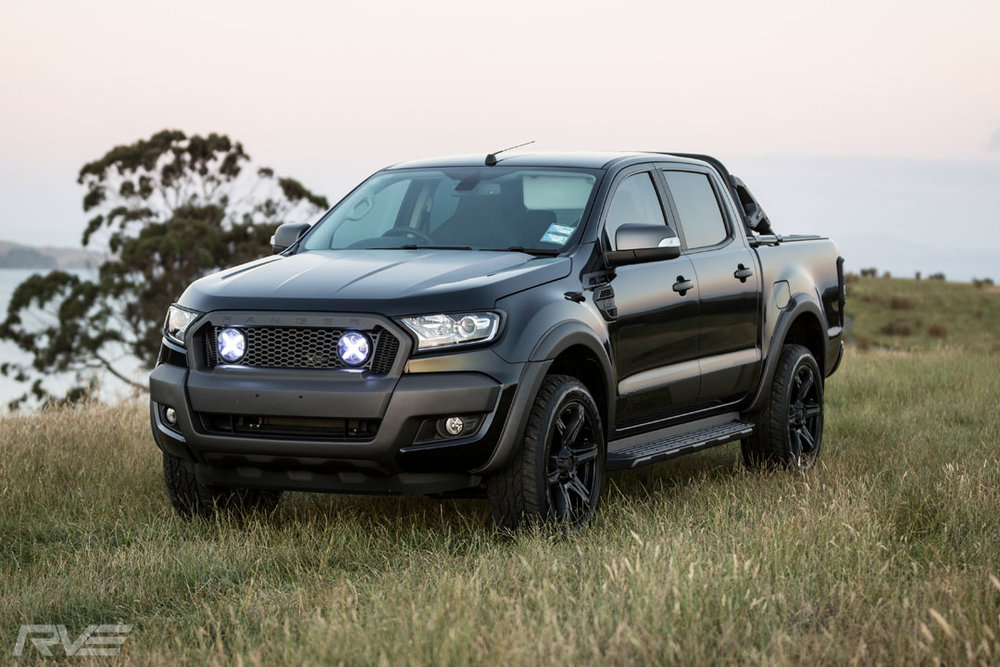 Ford Ranger XSV Stage 2 in 'Black Mica'.