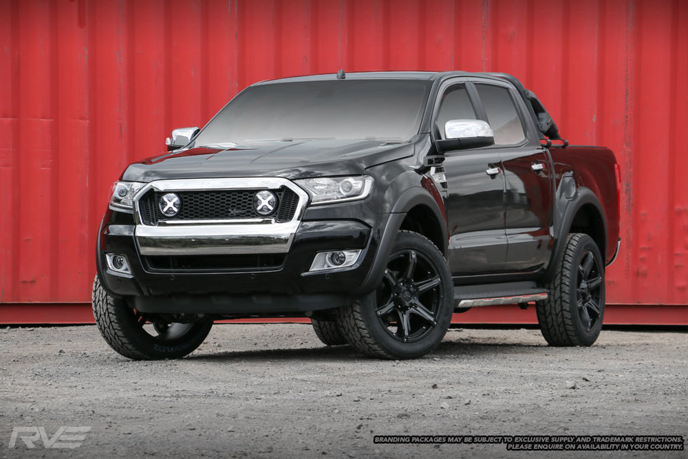 Ford Ranger XSV Stage 1 in 'Black Mica'.