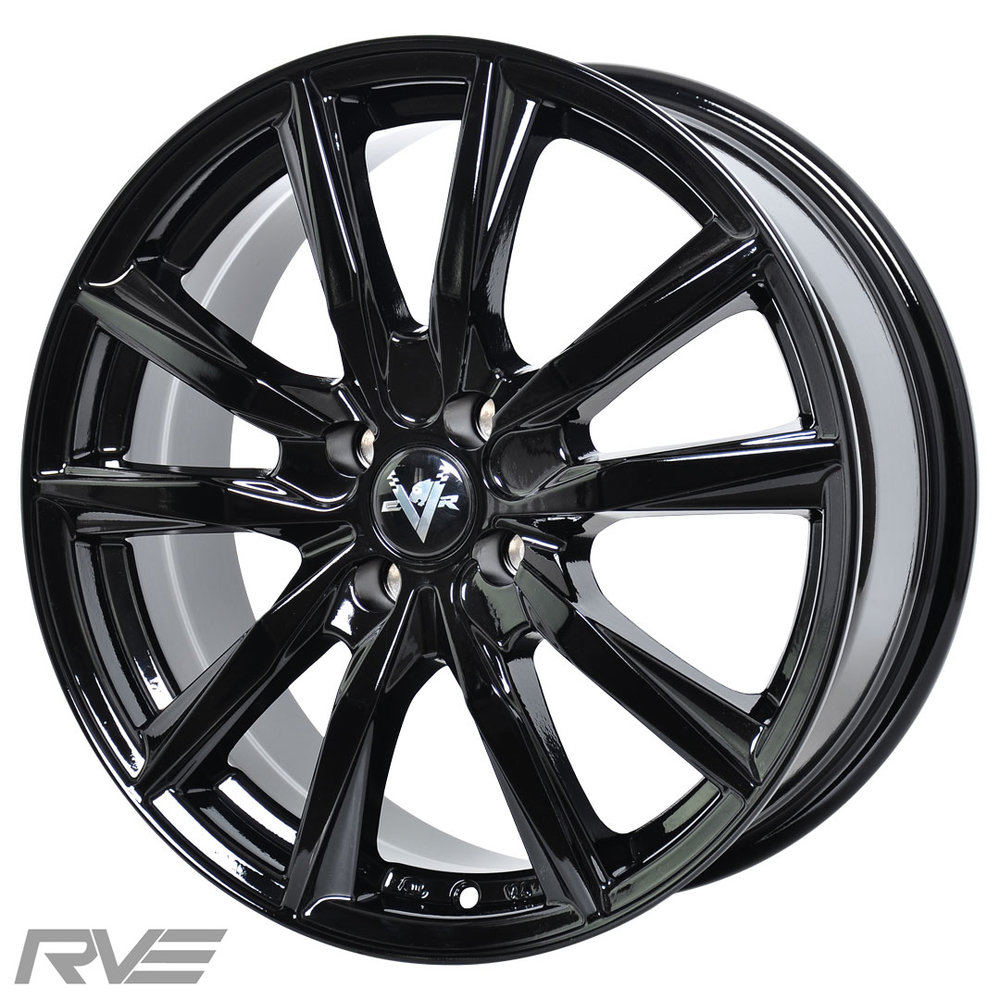 Spyder  Size: 17x7  Colour: High gloss black