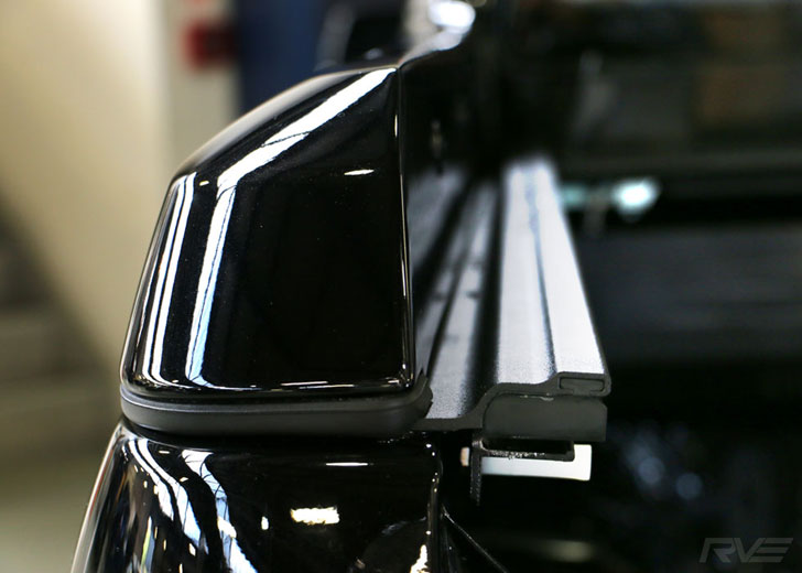 Detail shot of the Holden Colorado Z71 with ROC Retractable Hard-Lid