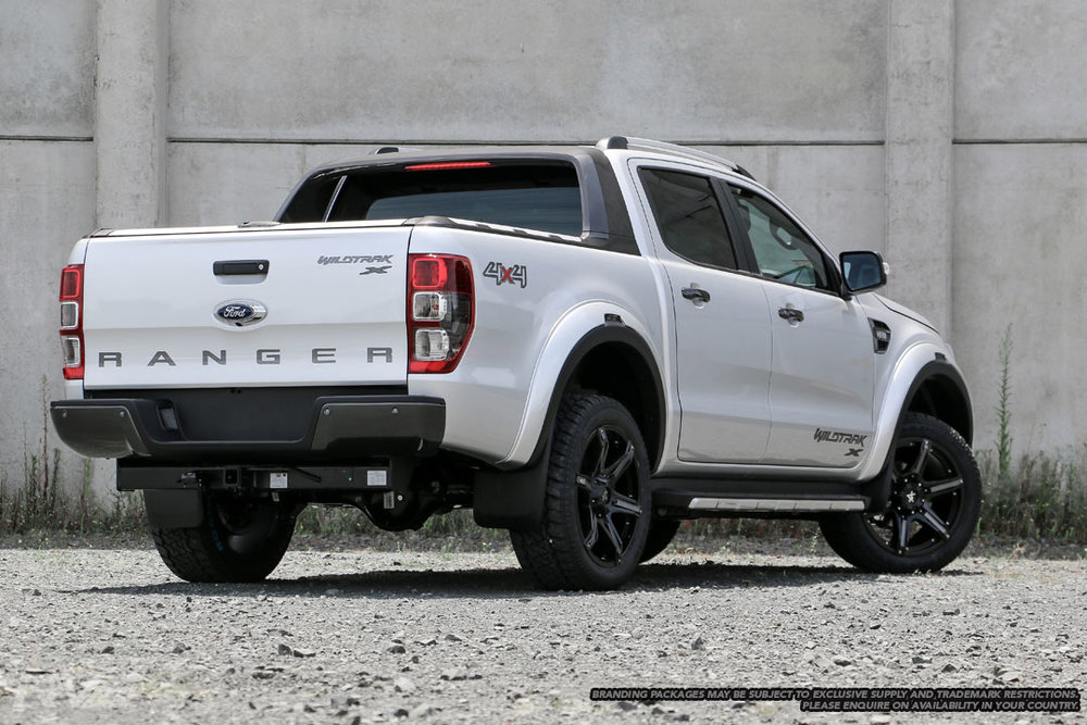 Ford Ranger Wildtrak X in 'Ingot Silver'