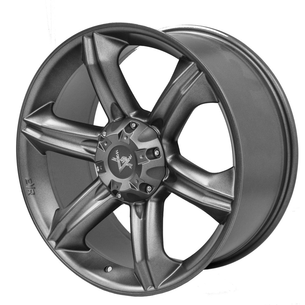 Dynamite – Ute / 4x4 Spec / SUV  Size: 20 x 9  Colour: Charcoal with centre cap