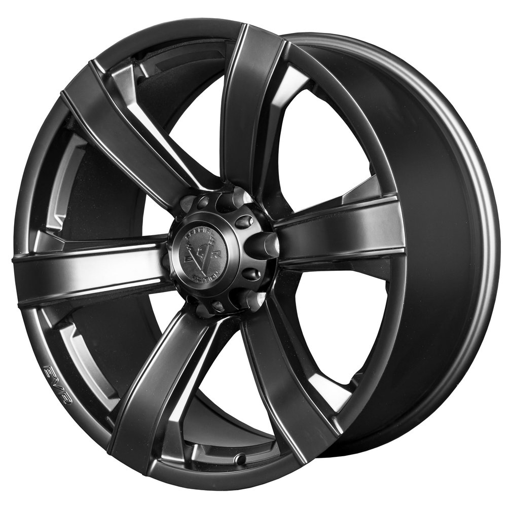 Vortex – Ute / 4x4 Spec / SUV  Size: 20 x 9  Colour: Satin black with centre cap