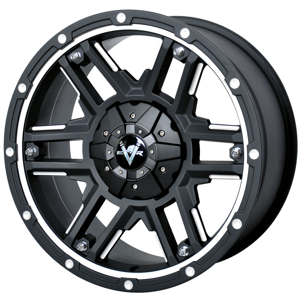 Ammo –  Ute / 4x4 Spec / SUV  Size: 20 x 9  Colour: Matte black with machining