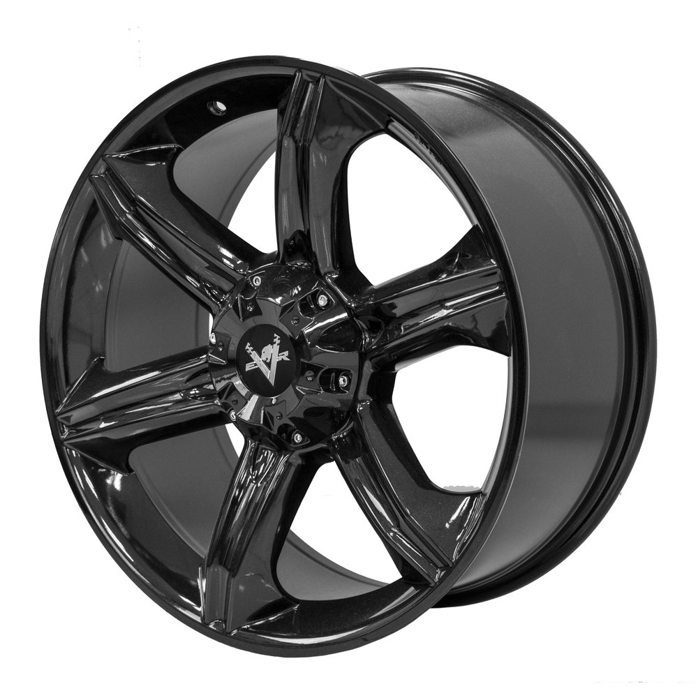 Dynamite – Ute / 4x4 Spec / SUV  Size: 20 x 9  Colour: Gloss black with centre cap