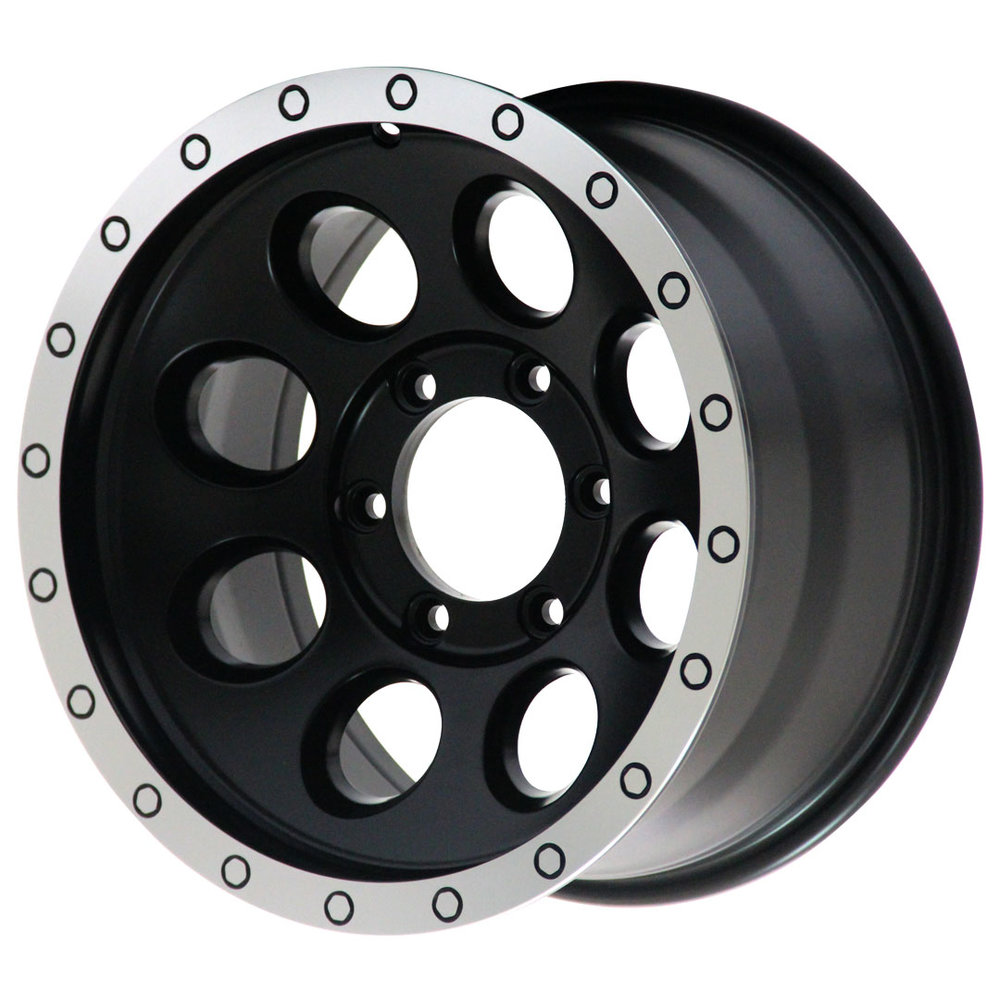 Slot - Ute / 4x4 Spec / SUV  Size: 18 x 9  Colour: Matte black with machining
