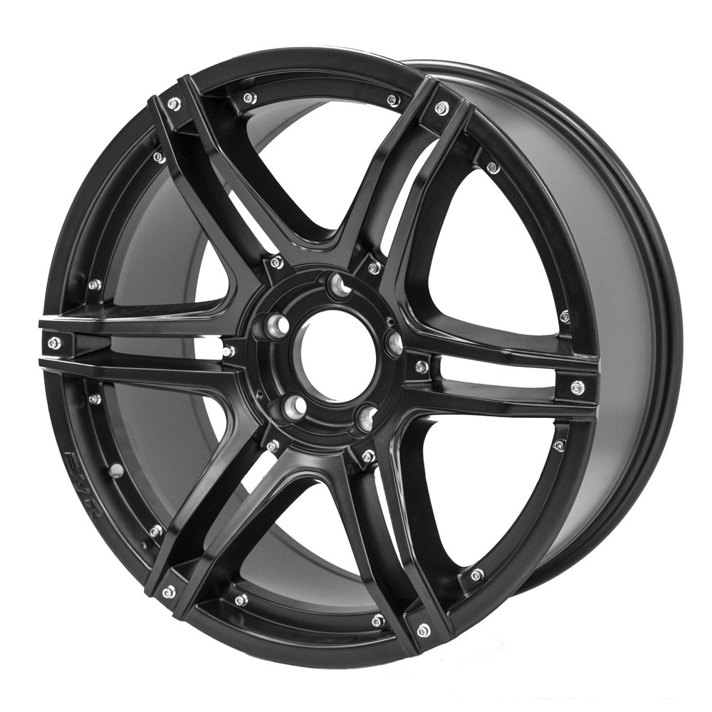 Fang – Ute / 4x4 Spec / SUV  Size: 20 x 9  Colour: Matte black, no centre cap, no inserts