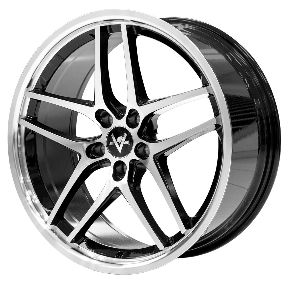 Phantom – Performance/SUV spec  Size: 20 x 8.5  Colour: Satin black with machining