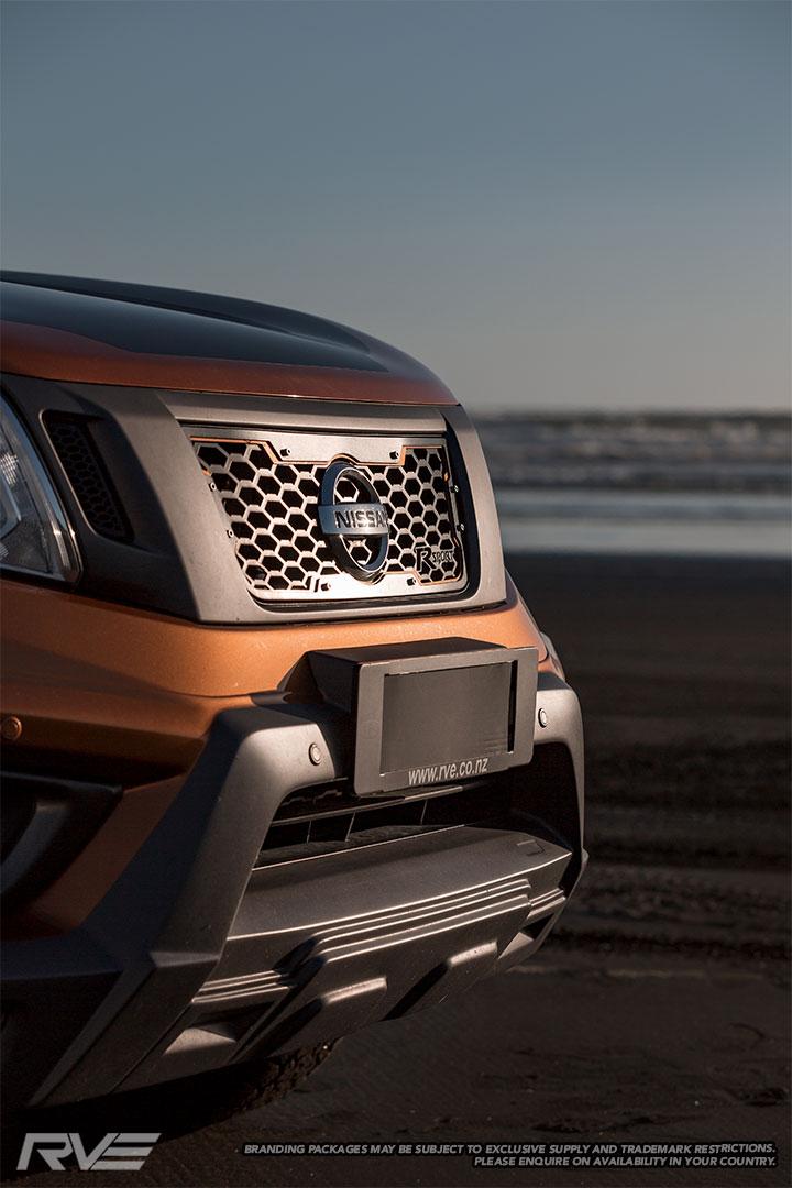 Nissan Navara R-Sport grille