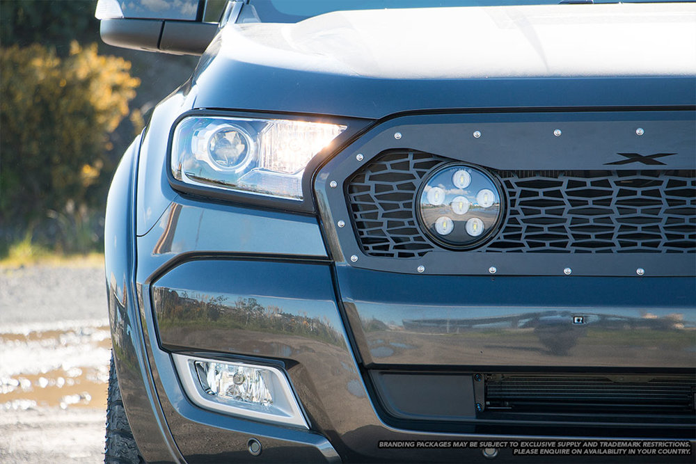 Ford Ranger Wildtrak X in magnetic grey.