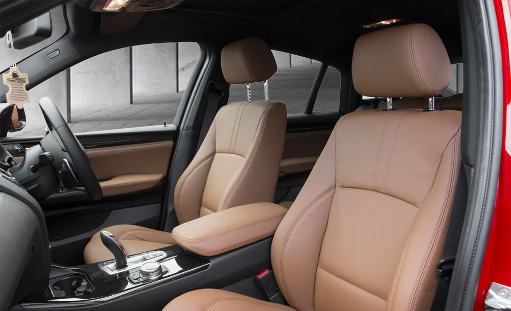 BMW X4 Leather Interior