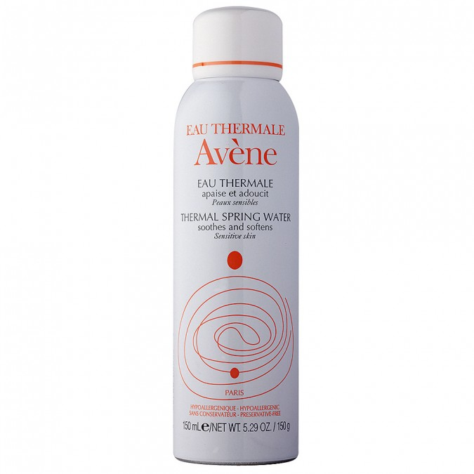 Avène Thermal Spring Water RRP $19.99 150g - I have rosacea, dehydrated and sensitive skin, yes it's a lot. But this product is much more than water in a can. This product soothes my skin and calms my rosacea. I use this as a toner after cleansing, After using this  for more than a few days you will notice your skin is a lot calmer. This not only helped my skin, but it's extremely cooling on those really hot days!