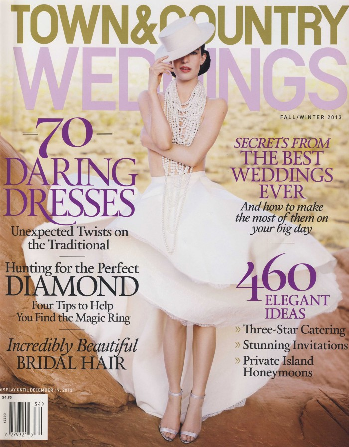 Town & Country Weddings - Fall/Winter 2013