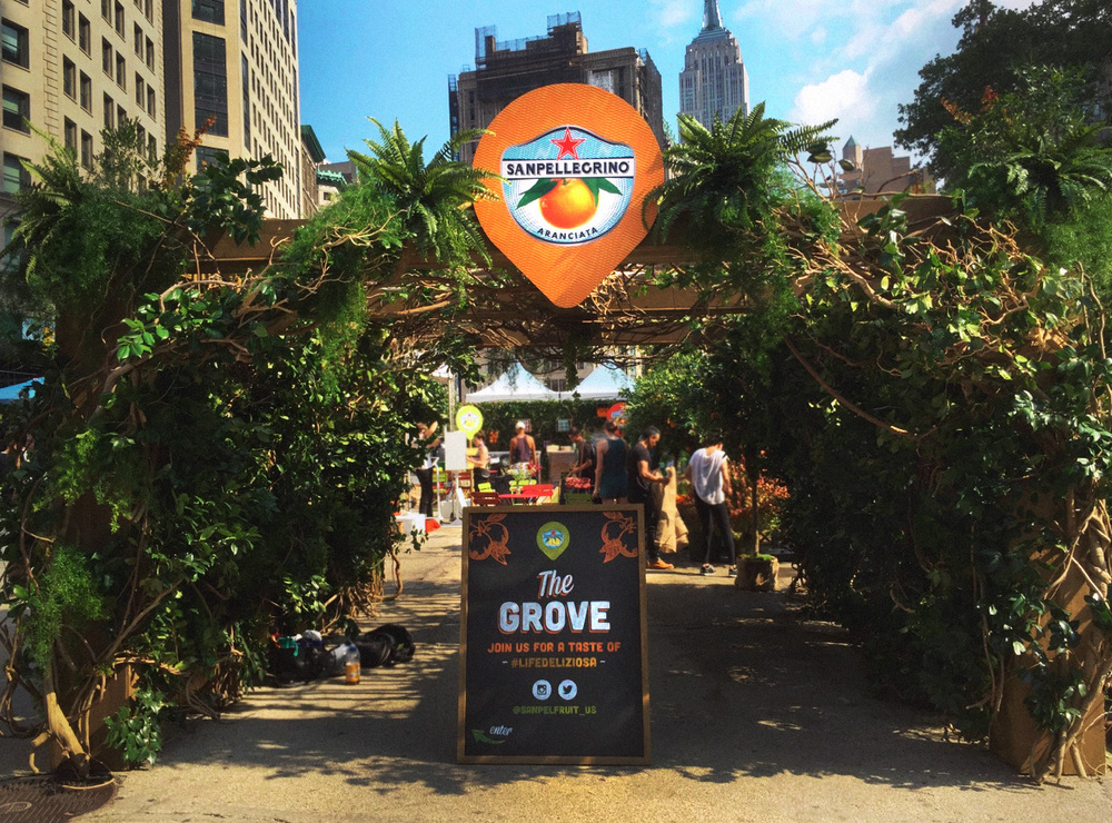 The Grove by Sanpellegrino® - New York City