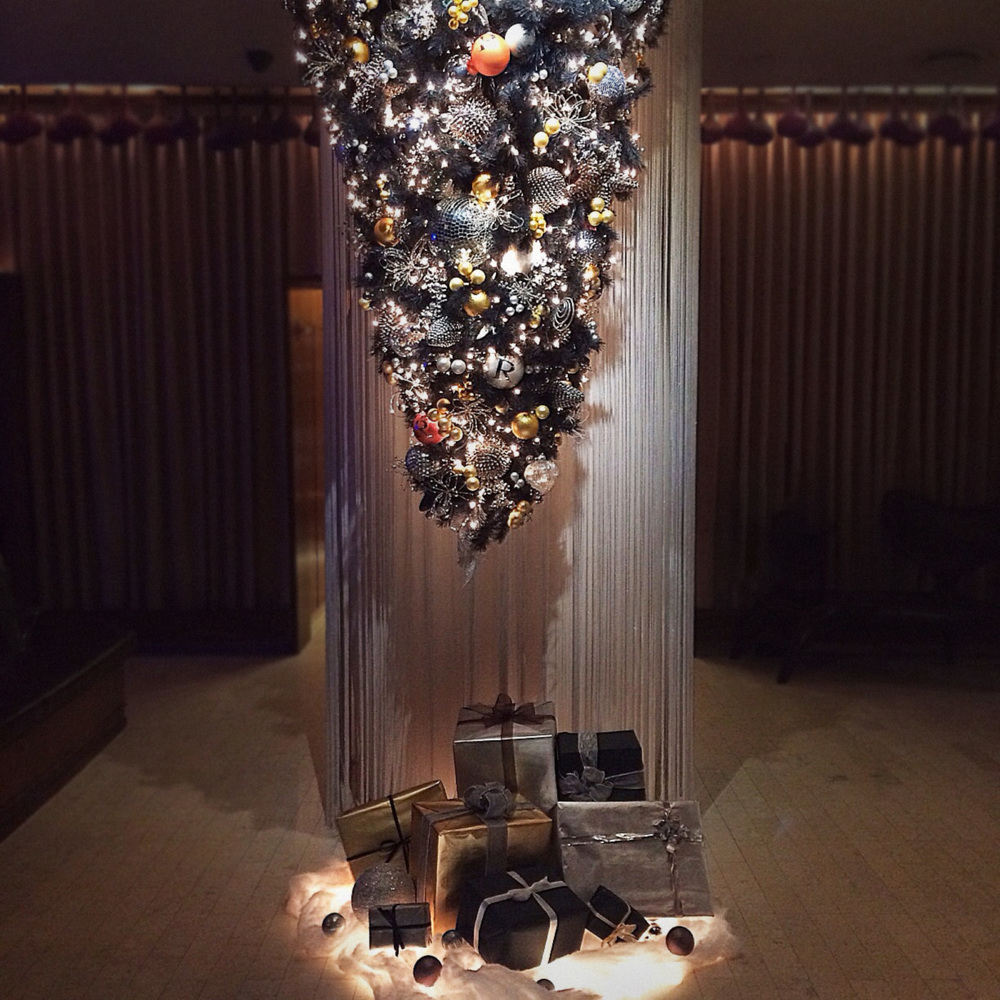 Christmas Installation - Renaissance Hotel