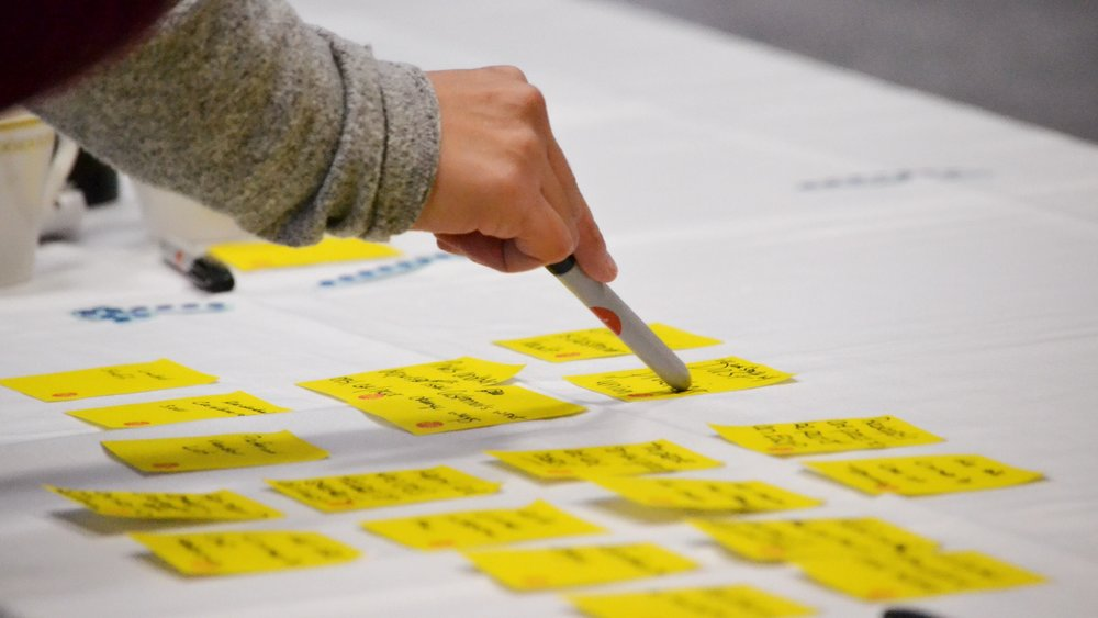 With stacks of Post-it notes, we guided a 100-year old company, dependent on physical assets and manual processes, to reimagine themselves as data-centric. -