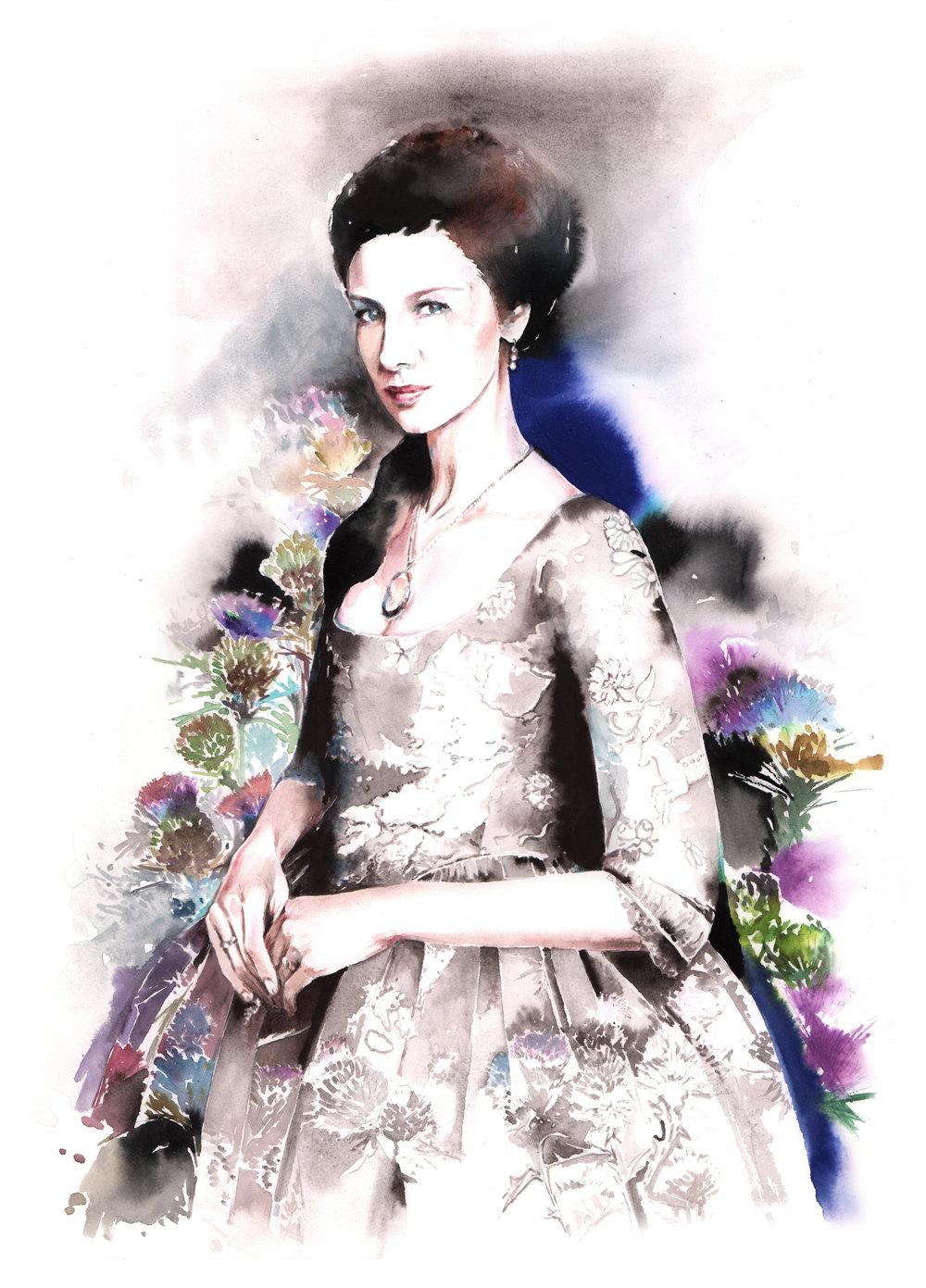 Claire. Outlander