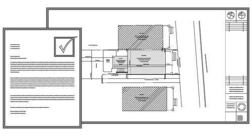 Blueprint design collective in addition to the architectural drawing set we offer services as applicant in submitting for building permit zoning certificate andor other applications malvernweather Choice Image