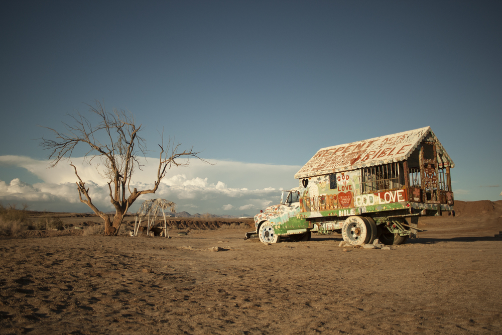 outside slab city