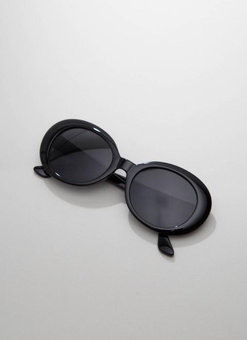Zero UV - Retro Round Tapered Arms Sunglasses